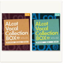 ALcot Vocal Collection BOX VOL.01,02